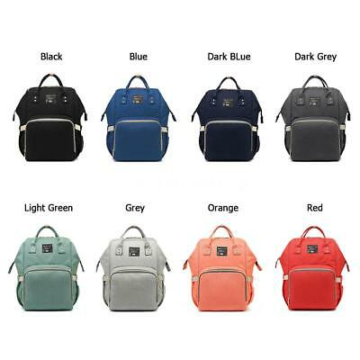 Fashion Mummy Maternity Nappy Diaper Bag Baby Bag Backpack 40 * 25 * 16cm R6S0
