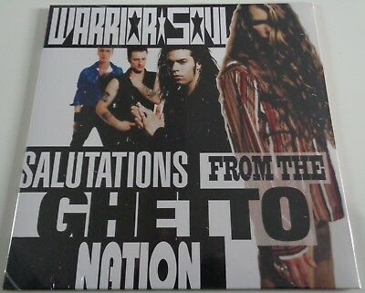 NB28	Warrior Soul	Salutations from the Ghetto Nation	WHITE VINYL LP ONLY 500