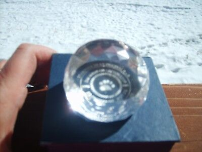 Boyd's Bears FoB CHARTER MEMBER 10th Annv. Paperweight GIFT Mint in Box RARE