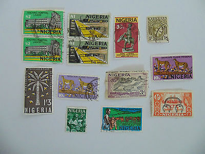 L817 - Collection Of Nigeria Stamps