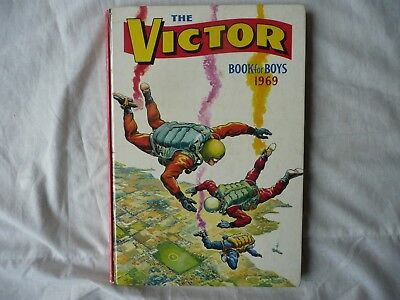 The Victor Book For Boys 1969 - Unclipped