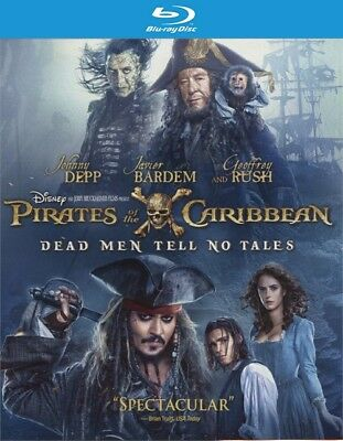 Pirates of the Caribbean: Dead Men Tell No Tales (Blu-ray Disc ONLY, 2017)