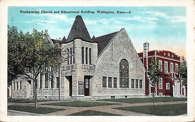 STAFFORD, KS RPPC Presbyterian Church - $5 00 | PicClick