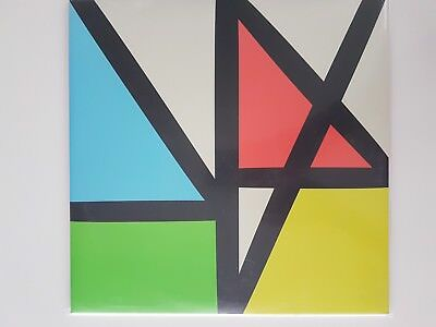 """New Order """"Music Complete"""" Doppel - LP VINYL LIMITED-EDITION ++ CLEAR VINYL!!"""