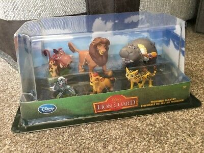 Disney Store Lion Guard Figurine Playset - Brand New In Box - The Lion King