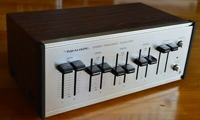Realistic Equalizer - 2 x 5 Band - 70s Vintage HiFi