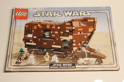 lego star wars ucs 10144 sandcrawler nur bauanleitung only instruction eur 23 80 picclick de. Black Bedroom Furniture Sets. Home Design Ideas