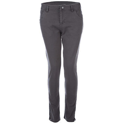 Junior Girls Bench Rampager Pants In Grey-Skinny Fit-Zippers At AnkleStitching