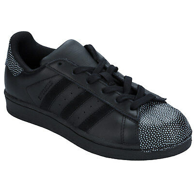 Junior Boys adidas Originals Superstar Ray Trainers In Black From Get The Label
