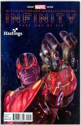 Infinity #1 Thanos Hastings Retail Variant Nm Marvel Comics Avengers 2 Movie
