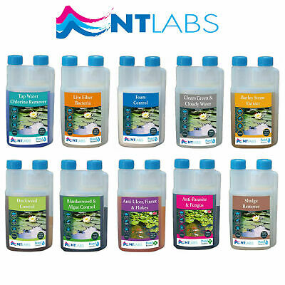 NT Labs Pond Coldwater Koi Fish Disease Treatment Liquid Medicine Water Quality