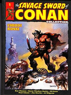 The Savage Sword Of Conan Collection Volume 1 - Chiodi Rossi - Haschette