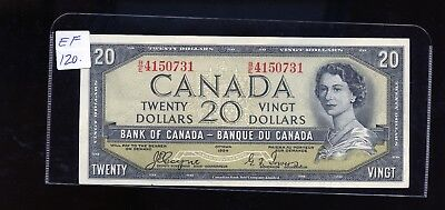 1954 Bank of Canada $20 Devil's Face Coyne Towers EF or better BL3357