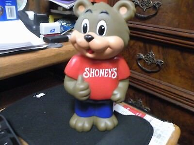 Shoney Advertising Bear Bank-Pre Owned Cond.