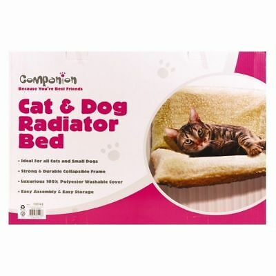 Fleece Pet Radiator Bed Cat Dog Kitten Puppy Animal Warm Cosy Hammock