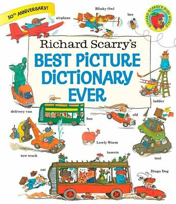 Best Picture Dictionary Ever by Richard Scarry - Hardcover - NEW - Book