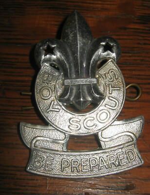 Boy Scouts Canada Be Prepared Scully Ltd Montreal Silver Stetson Hat Pin