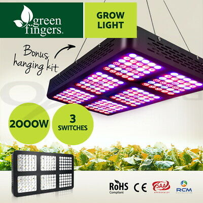 GREENFINGERS 2000W Reflector-Series LED Grow Light Indoor Plant VEG and BLOOM