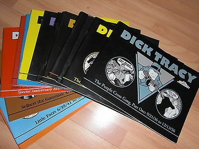 Dick Tracy 15 books( 1936-1942) dailies and Sundays in sequence