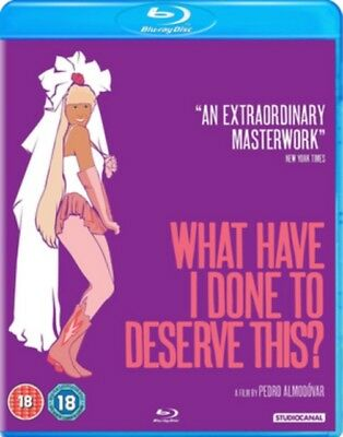 What Have I Done To Deserve This? BLU-RAY NEW Blu-RAY (OPTBD4031)