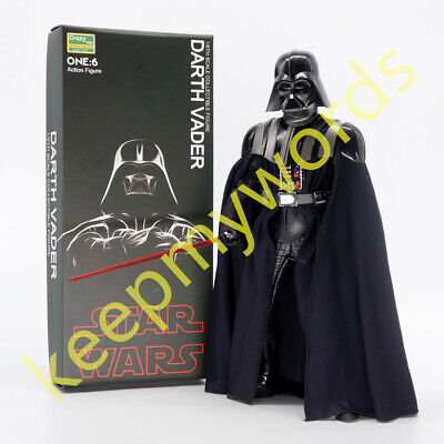 """Crazy Toys Darth Vader Star Wars Movie 1/6TH Action Figure 12""""Collection PVC Toy"""