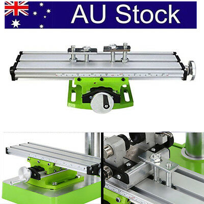 AU!! Mini Multifunction Working Table Milling Machine Worktable For Bench Drill