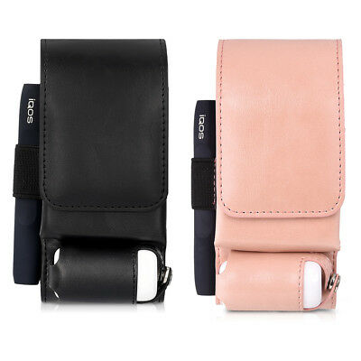 kwmobile CASE FOR IQOS POCKET CHARGER SYNTHETIC LEATHER CASE 3IN1 PROTECTIVE
