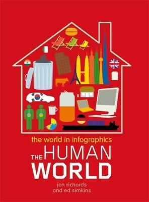 The World in Infographics: The Human World (Paperback), Richards,...