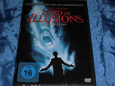 FANTASY : Clive Barker , LORD OF ILLUSIONS , Director's Cut , Horror FILM  ovp.