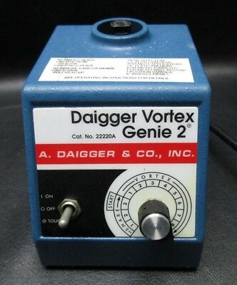 SCIENTIFC INDUSTRIES DAIGGER Vortex Genie 2 G-560 Mixer Shaker 22220A