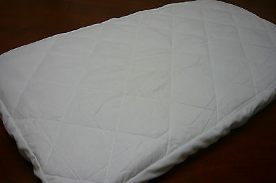 Bassinet Mattress Protector >suit 45 x 90 cm.  Cradle > Brand New <<