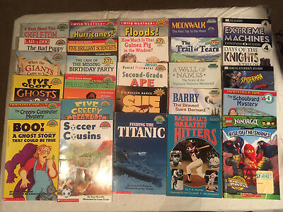 Lot LEVEL 4 Scholastic HELLO READER Lego STEP INTO READING Eyewitness DK