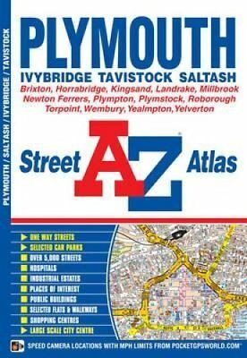 Plymouth Street Atlas by Geographers' A-Z Map Company 9781782570165