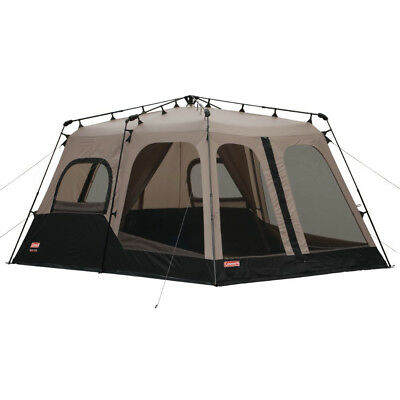 Coleman Large 8 Person 14u0027 x 10u0027 Weathertec Instant Set Up Outdoor C&ing Tent  sc 1 st  PicClick & EMBARK INSTA-UP 8 Person Tent 14u0027 X 8u0027 x 6.5u0027 Ceiling - $75.00 ...