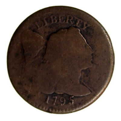 1795 1C Flowing Hair Large One Cent