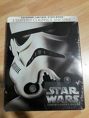 STAR WARS Ep.5 - L'Impero Colpisce Ancora (Limited Edition Blu-Ray + Steelbook)