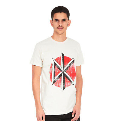 Dead Kennedys - Distressed Logo T-Shirt White