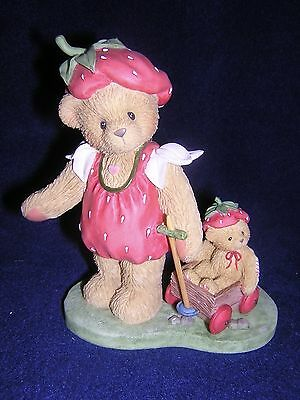 CHERISHED TEDDIE REBECCA Strawberry Patch NEW and Never Displayed LOW # RARE!!