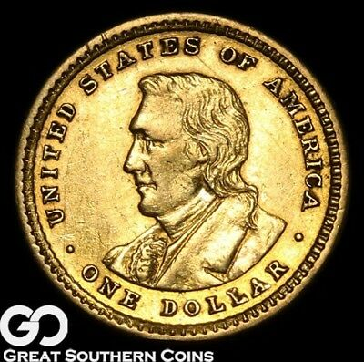 1904 Commemorative Gold Dollar, $1 Lewis & Clark** Free Shipping!