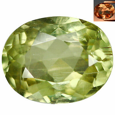 2.89 Ct Superior Oval Cut 10 x 8 mm AAA Color Change Turkish Diaspore
