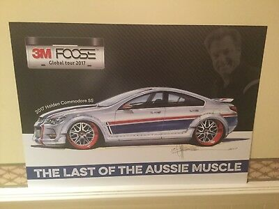 2017 Holden Commodore SS Chip Foose The Last Of The Aussie Muscle poster