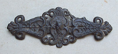 Awesome Medieval Pewter Clothes Fastener 1400's Metal Detecting Find