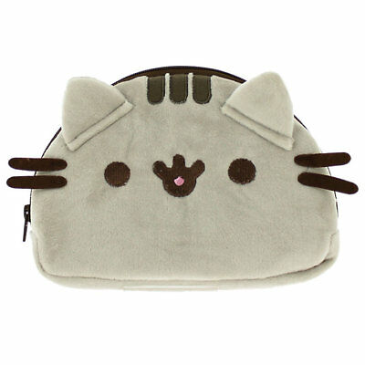 Officially Licensed Pusheen Plush Pencil Soft Case Accessory Cat Kitten Gift