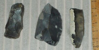 Mesolithic -Neolithic Flint Scraper,arrowhead And Cutting Tool