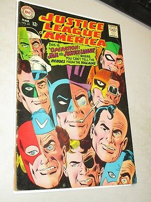 Justice League of America #61 Mid Grade (3/68) Lex Luthor! Silver Age