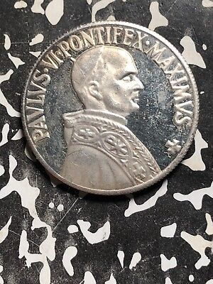 Undated Papal Medal Lot#X4765 ~36mm Pope Paul VI