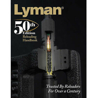 Lyman Load Data Book 50th Edition Reloading, Hard Cover Md: 9816050