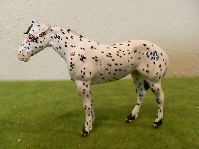 custom Peter Stone chips mustang leopard appaloosa Indian pony with warpaint