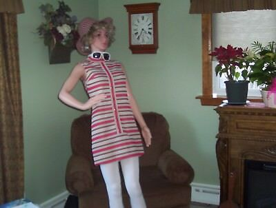 Full Body Over 5 Feet Female Mannequin with Wig//Boots Hat Outfit! Moveable arms