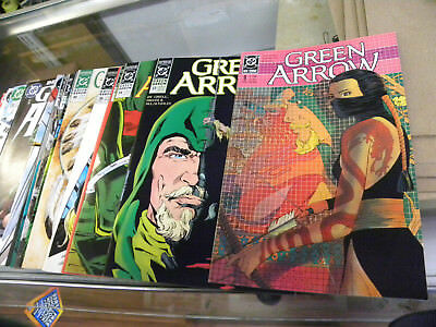 DC 1988 20 issues GREEN ARROW #9 to #137 w ANNUAL 5 & WONDER YEAR